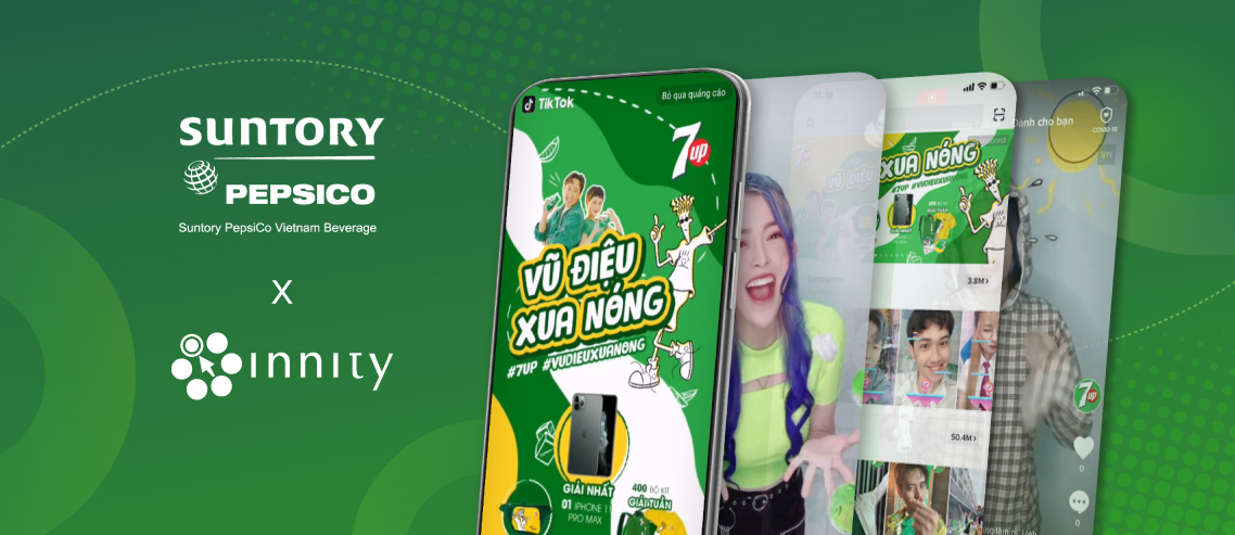 Suntory PepsiCo Vietnam works with Innity to run TikTok Hashtag Campaigns for Mirinda and 7UP